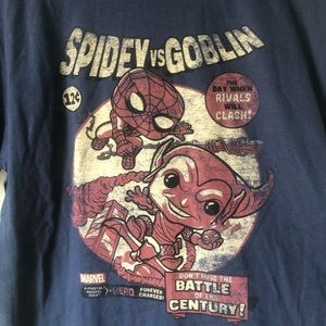 Marvel Collector Corps Spidey Vs Goblin T-Shirt